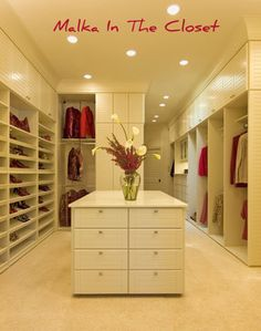 A beautiful walk in #closet