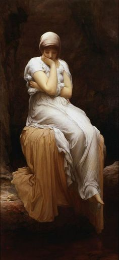 Lord Frederick Leighton Solitude painting is shipped worldwide,including stretched canvas and framed art.This Lord Frederick Leighton Solitude painting is available at custom size. William Adolphe Bouguereau, Michael Lang, Frederick Leighton, John Blake, The Beast, Pre Raphaelite, Oil Painting Reproductions, Classical Art, Wassily Kandinsky