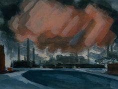Bluemner_Oscar_Florianus-Sketch_For_Red_Storm.jpg (1024×768)