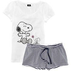 H&M Pyjamas ($20) ❤ liked on Polyvore featuring intimates, sleepwear, pajamas, pijamas, pyjamas, dark blue, h&m and short sleeve pajamas