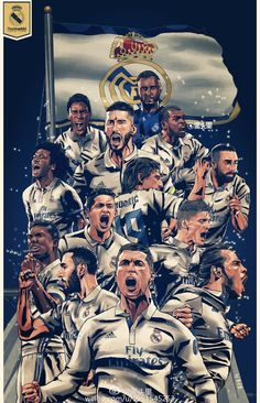 that's for all fans loved REAL madrid hala madrid Ronaldo Real Madrid, Real Madrid Football, God Of Football, Ronaldo Football, Football Art, Real Madrid Time, Real Madrid Club, Real Madrid Players, Cr7 Wallpapers