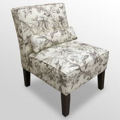 Toile chair from the Foundary.com, $245.00