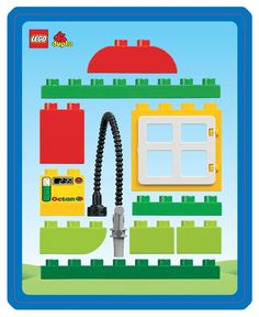 Duplo: Tankstation Lego Duplo Sets, Lego Craft, Lego Design, Lego Worlds, Lego Group, Baby Education, Lego Instructions, Lego Building, Games For Kids