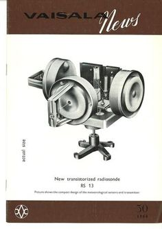 Vaisala News 30 1966 Make It Simple, 30th, News