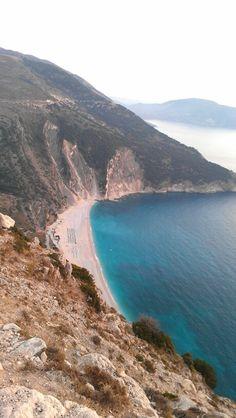 Myrtos beach, the island of Kefalonia, Greece