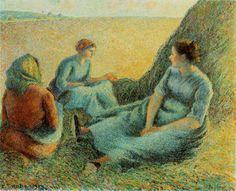 Haymakers Resting   1891; Oil on canvas, 65.4 x 81.3 cm; McNay Art Institute, San Antonio, TX