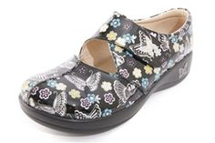 Alegria Kaitlyn Black Butterfly Patent - on closeout for $69! | Alegria Shoe Shop #AlegriaShoes