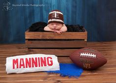 Football Newborn picture