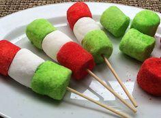 Sencillos y muy divertidos: Bombones de malvavisco y gelatina: Los bombones de malvavisco y gelatina se elaboran rápidamente y con únicamente dos ingredientes.