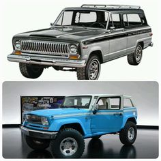 Jeep Chief with inspiration for the design from the Cherokee!