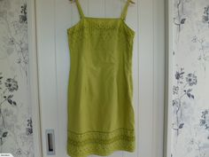 ***Marks & Spencer Cotton Dress for sale on Trade Me, New Zealand's auction and classifieds website Cotton Dresses, Fashion Outfits, Summer Dresses, Clothes, Women, Outfits, Fashion Suits, Clothing, Summer Sundresses