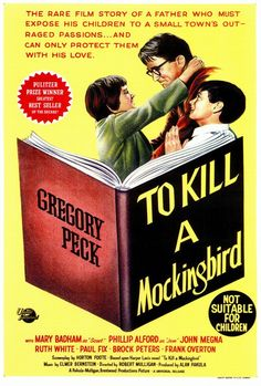 I watched the end of this film again last night -- for perhaps the 100th time. It still delivers on every level. And it's a message that's perhaps even more important today than ever. The poster notes that the film isn't suitable for children. That was perhaps true in 1962 when Harper Lee's outstanding book turned actor Gregory Peck into Atticus Finch for life. But I can't think of a movie more important for children to see after age 10 now.