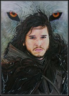 Jon Snow - Game of Thrones character, but could be easily converted into wall of thorns stuff