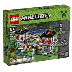 Amazon.com: LEGO Minecraft 21127 The Fortress Building Kit (984 Piece): Toys & Games