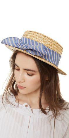 Шляпка Канотье