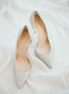 171f469184ca Proof a White-on-White Color Palette is Anything But Boring. Wedding Shoes  ...