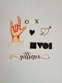 Valentines Pack Temporary Tattoos - SmashTat