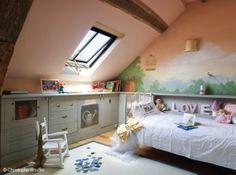 mural habitacion nina