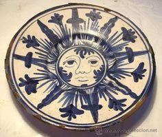 Principal - Plato de ceramica catalana
