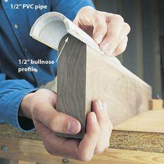 pvc sanding tools #woodworkingtools