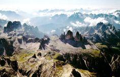 The Dolomite Mountains, Veneto, Italy