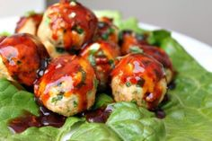 Thai Basil Turkey Meatballs