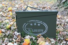 Hunting gift for men, Ammo Box, Personalized Ammo Box, Metal Ammunition, Men Gift Box by SilverCreekDT on Etsy