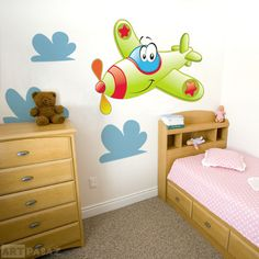 decorating the boy's room