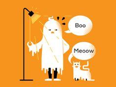 #boo #illustration