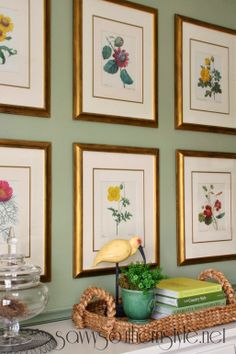 Savvy Southern Style - prints with color