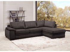 Sofá cama sobrio , moderno y cómodo, muebles para sala, decoración, accesorios Metal Sofa, My Ideal Home, Upholstered Sofa, Interior Design Living Room, Upholstery, House Design, Couch, Furniture, Home Decor