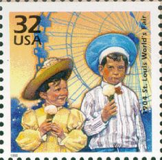 February 3, 1998: Commemorating St. Louis World's  Fair held 1903