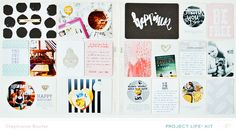 June 1-8 | Project Life 2014 (Main PL kit only) by *paperandglue* at @studio_calico - stephanie baxter