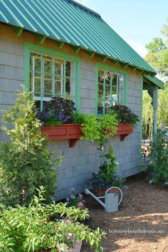 Potting Shed Window Boxes | homeiswheretheboatis.net