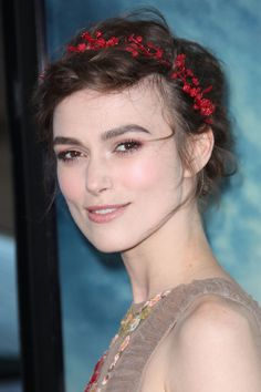Hair Accessories: Keira Knightley