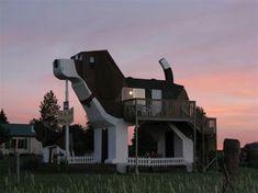 $ ♥♥ Dog Bark Park Inn: Bed and Breakfast located in Cottonwood, Idaho
