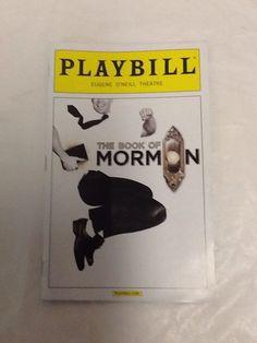The Book of Mormon Playbill Ben Platt March 2014 Smash Hit Tony Win Eugene O'neill, Ben Platt, Book Of Mormon, Dear Evan Hansen, Pitch Perfect, March 2014, Broadway, Books, Ebay