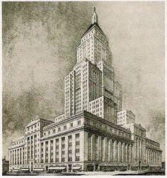 Historical Designs / Utopias / Monuments - Never built - SkyscraperCity