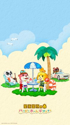 Animal Crossing Happy Home Designer iPhone6 wallpaper (1242 x 2208)