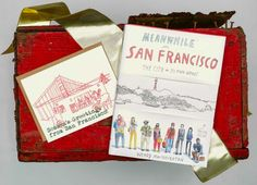 "La Familia Green food truck box set of 8 cards; ""Meanwhile in San Francisco"" by Wendy MacNaughton"