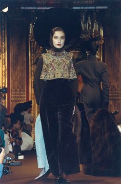 Christian Lacroix Haute Couture Fall-Winter 1988 | by Christian_Lacroix