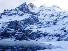 Life Abundant Blog,   Lake Oeschinensee, snowy lake, mountain lake, Switzerland, Switzerland blog, best things to do in Switzerland, Switzerland travel tips, Interlaken Switzerland, Interlaken