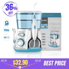 Waterpulse Oral Irrigator Tips Dental Water Flosser Water Floss Oral Hygiene Dental Flosser Water Flossing - To buy again Dental Floss, Oral Hygiene, Teeth Cleaning, Irrigation, Home Appliances, Stuff To Buy, Ebay, Water, Free Shipping