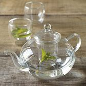 Glass Teapot #glassware it would be silly but cute to have the goldfish in a glass tea pot as a centerpiece for a Suess party.