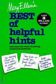 The Paperback of the Mary Ellen's Best of Helpful Hints: Fast-Easy-Fun Ways of Solving Household Problems by Mary Ellen Pinkham, Mary Jo Rulnick, Judith Candle Making, Helpful Hints, Books To Read, Mary, Lettering, Reading, Authors, Household, Fun