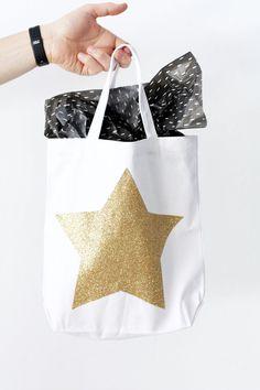 DIY Oscars Swag Bags - Oscars Party Ideas