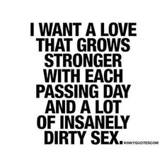 Passion and sex is ALL she needs.