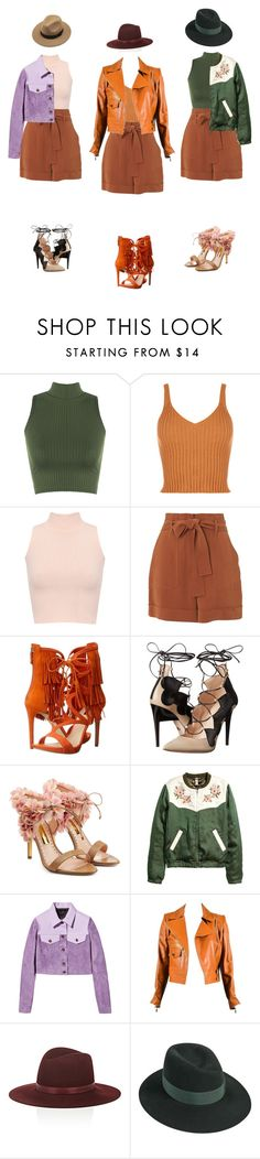 """""""1, 2 or 3 🤔"""" by fairuzamoon ❤ liked on Polyvore featuring WearAll, Whistles, GUESS, Ruthie Davis, Rupert Sanderson, Burberry, Chanel, Janessa Leone and Maison Michel"""