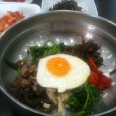 점심은 산내음 비빔밥 킁