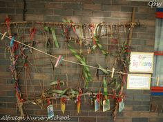 "Gorgeous weaving at Alfreton Nursery School ("",)"